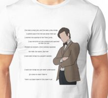 Doctor Who - No Time, No Space, Just Me! Unisex T-Shirt