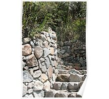 Staircase of Stones Poster