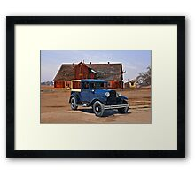 1932 Ford 'Farmers Truck' Framed Print