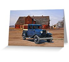 1932 Ford 'Farmers Truck' Greeting Card