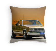 1982 Chevrolet El Camino Throw Pillow