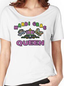 Mardi Gras Queen Women's Relaxed Fit T-Shirt
