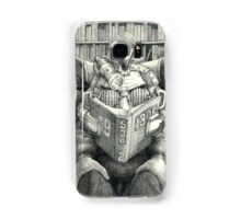 Bookish Headgear Samsung Galaxy Case/Skin