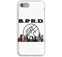 bprd b.p.r.d hellboy comic iPhone Case/Skin