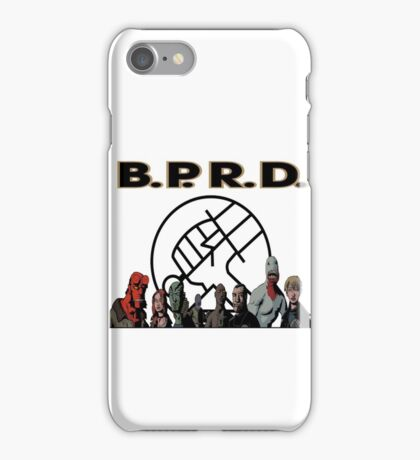 bprd b.p.r.d hellboy comic iPhone Case/Skin