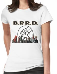 bprd b.p.r.d hellboy comic Womens Fitted T-Shirt