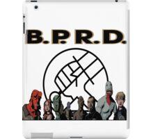 bprd b.p.r.d hellboy comic iPad Case/Skin