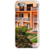 Peachy apartments iPhone Case/Skin
