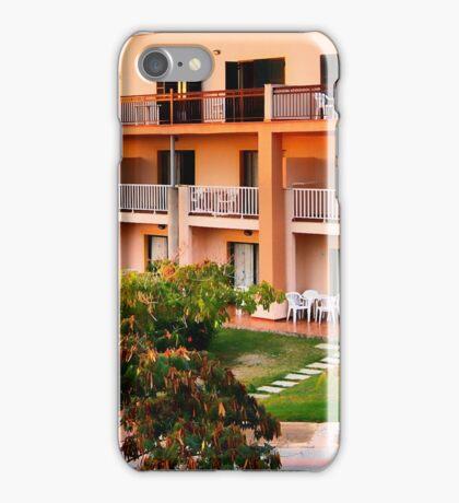 Peachy apartments iPhone Case/Skin