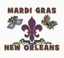 Mardi Gras New Orleans Kids Tee