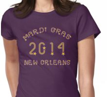 Mardi Gras 2014 New Orleans Womens Fitted T-Shirt