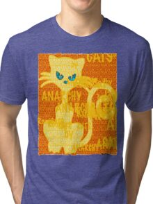 CHAT PERSON by ROOTCAT Tri-blend T-Shirt