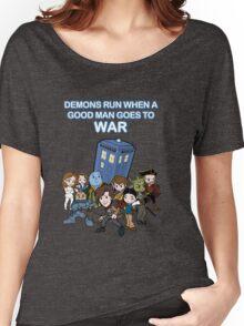 Demons Run When A Good Man Goes to War Women's Relaxed Fit T-Shirt
