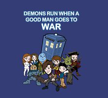 Demons Run When A Good Man Goes to War Unisex T-Shirt