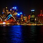 Sydney Harbour and Opera House by SaraHardman