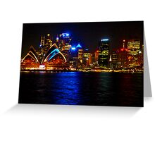 Sydney Harbour and Opera House Greeting Card