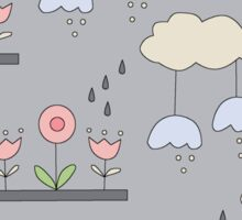 Garden in the Sky Sticker