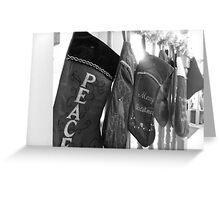 Stockings Greeting Card