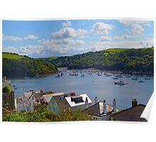 Fowey, Cornwall Poster