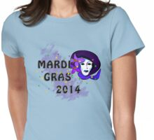 Mardi Gras 2014 Womens Fitted T-Shirt