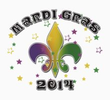 Mardi Gras 2014 One Piece - Long Sleeve