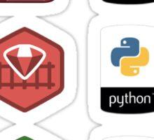 Developer Logo Bundle Sticker