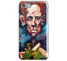 Portrait with Red Hair. iPhone Case/Skin