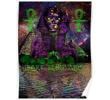 Psychedelic Pharaoh Poster