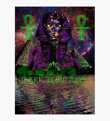 Psychedelic Pharaoh Photographic Print