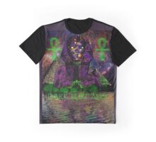 Psychedelic Pharaoh Graphic T-Shirt