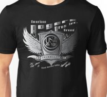 USA wings by roger brothers Unisex T-Shirt