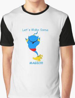 Chibi Genie: Let's Make Some MAGIC Graphic T-Shirt