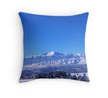 Pikes Peak 1 Throw Pillow