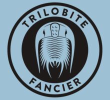 Trilobite Fancier (black on light) Kids Tee