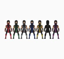 Mortal Kombat Characters by DeadlyGraphics
