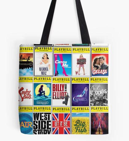 Broadway Playbill Palooza Tote Bag