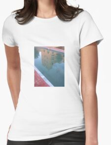 Atlas arquitect pool girly fit shirt Womens Fitted T-Shirt