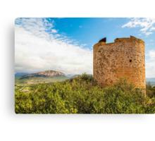 Torre d'Andritxol, Majorca Canvas Print
