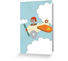 A is for Aeroplane Greeting Card