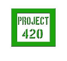 PROJECT 420 green 0001 Photographic Print