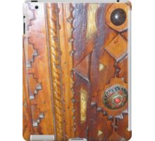 Atlas Travel Wooden Door Work iPad Case/Skin