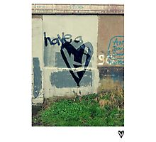 Have A Heart Poster Photographic Print