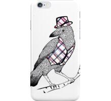 The black birds are gentlemen iPhone Case/Skin