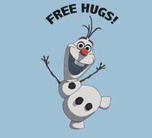 Olaf free hugs by DisneyDevoted