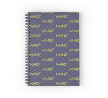 Infinitely Mad Spiral Notebook