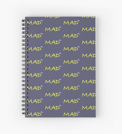 Infinitely Mad Spiral Notebook
