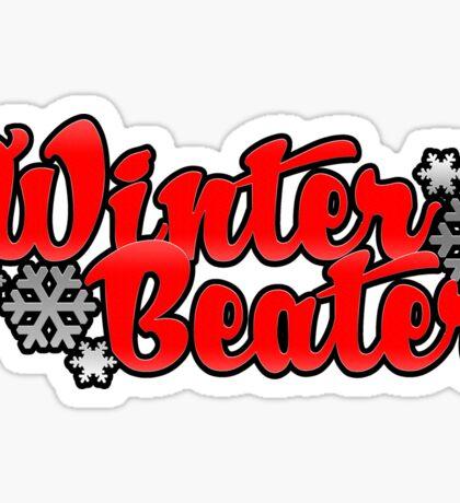 winter beater| vers. 2 Sticker