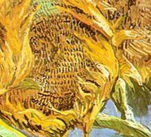 Vincent Van Gogh - Cut Sunflowers Sticker