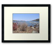 Early Spring on Otsego Lake Framed Print