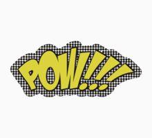 POW!!! Comic Sound One Piece - Short Sleeve